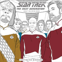 Image: Star Trek: TNG Adult Coloring Book Vol. 02 - Continuing Missions SC  - Dark Horse Comics