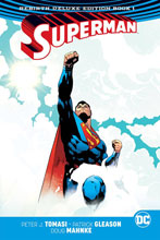 Image: Superman Rebirth Deluxe Collection Book 01 HC  - DC Comics