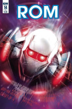 Image: Rom #14 (cover B - Dorian & Buscema) - IDW Publishing