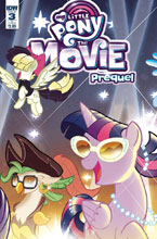 Image: My Little Pony Movie Prequel #3 (cover B - Fleecs) - IDW Publishing