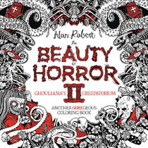 Image: Beauty of Horror: Goregeous Coloring Book Vol. 02 SC  - IDW Publishing