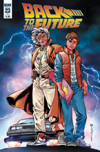 Image: Back to the Future #23 (cover B - Sears) - IDW Publishing