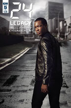 Image: 24: Legacy - Rules of Engagement #5 (cover B - Photo) - IDW Publishing