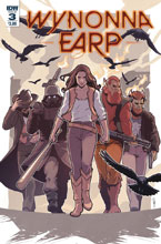 Image: Wynonna Earp: Season Zero #3 (cover A - Evenhuis) - IDW Publishing
