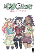 Image: Grrl Scouts: Magic Socks #4 (cover B - Ys) - Image Comics