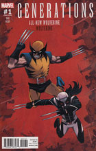 Image: Generations: Wolverine & All-New Wolverine #1 (Shalvey variant cover)  [2017] - Marvel Comics