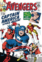 Image: True Believers: Kirby 100th - Avengers: Captain America Lives Again! #1 - Marvel Comics