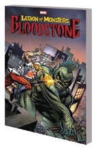 Image: Bloodstone & the Legion of Monsters SC  - Marvel Comics