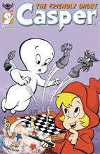 Image: Casper the Friendly Ghost #2 (main cover - Spooky Gallagher) - American Mythology Productions