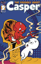 Image: Casper the Friendly Ghost #2 (variant cover - Homage Jourdan) - American Mythology Productions