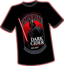 Image: Dark Cider T-Shirt  (XXL) - Antarctic Press