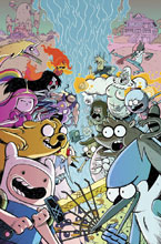 Image: Adventure Time / Regular Show #1 (subscription cover - Corona) - Boom! Studios - KaBoom!