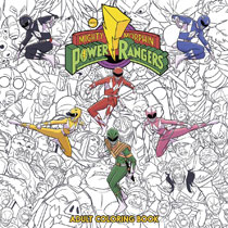Image: Mighty Morphin Power Rangers Adult Coloring Book SC  - Boom! Studios