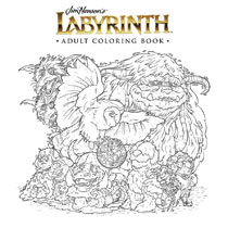 Image: Jim Henson Labyrinth Adult Coloring Book SC  - Boom! Studios - Archaia