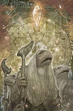 Image: Jim Henson's Power of the Dark Crystal #6 (subscription cover - Takeda) - Boom! Studios - Archaia