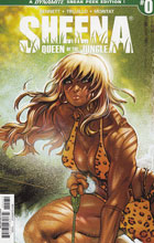 Image: Sheena Queen of the Jungle #0 (Moritat Sneak Peek incentive cover - 00031) (25-copy) - Dynamite