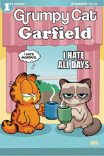 Image: Grumpy Cat / Garfield #1 (cover D - Fleecs) - Dynamite