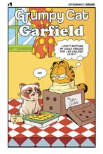 Image: Grumpy Cat / Garfield #1 (cover F - Murphy Comic Strip) - Dynamite