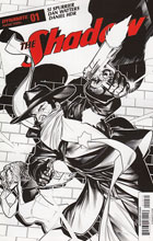 Image: Shadow Vol. 03 #1 (Peterson b&w incentive cover - 01071) (20-copy) - Dynamite