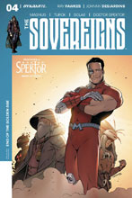 Image: Sovereigns #4 (cover D - Trevino) - Dynamite