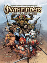 Image: Pathfinder Worldscape Vol. 01 HC  - Dynamite