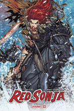 Image: Red Sonja #8 (cover C - Meyers) - Dynamite