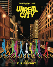 Image: Unreal City HC  - Fantagraphics Books