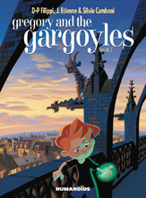 Image: Gregory and the Gargoyles Vol. 01 HC  - Humanoids Inc