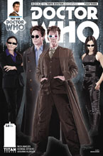Image: Doctor Who: The 10th Doctor - Year Three #8 (cover A - Myers) - Titan Comics
