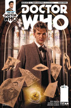 Image: Doctor Who: The 10th Doctor - Year Three #8 (cover B - Brooks) - Titan Comics