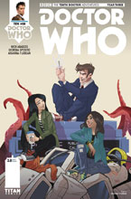 Image: Doctor Who: The 10th Doctor - Year Three #8 (cover C - Florean) - Titan Comics
