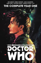 Image: Doctor Who: The 10th Doctor - The Complete Year One HC  - Titan Comics
