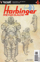 Image: Harbinger: Renegade #6 (Larosa Character Design incentive cover - 00641) (10-copy) - Valiant Entertainment LLC