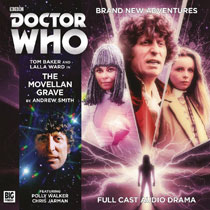 Image: Doctor Who: The 4th Doctor Adventure Audio CD: Movellan Grave  - Big Finish