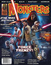 Image: Famous Monsters of Filmland #283 (variant Star Wars cover - Wolfinger) - Monsters Ink, LLC