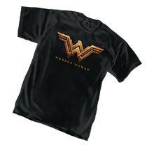 Image: Wonder Woman Movie T-Shirt: Logo  (L) - Graphitti Designs