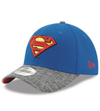 Image: DC 3930 Flex Fit Cap: Superman Team Shaded  - New Era Cap Co