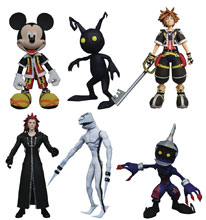Image: Kingdom Hearts Select Action Figure Series 1 Assortment  - Diamond Select Toys LLC
