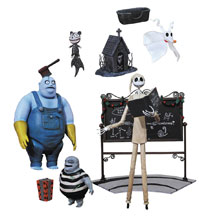 Image: Nightmare Before Christmas Select Action Figure Series 4 Assortment  - Diamond Select Toys LLC
