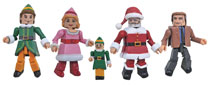 Image: Elf Minimates Box Set  - Diamond Select Toys LLC