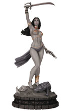 Image: Women of Dynamite Statue: Dejah Thoris  (B&W Proof edition) - Dynamic Forces