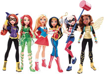 Image: DC Super Hero Girls Core Doll Refreshed Assortment  - Mattel Toys