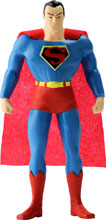 Image: New Frontier Bendable Figure: Superman  (5.5-inch) - N J Croce Company