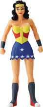 Image: New Frontier Bendable Figure: Wonder Woman  (5.5-inch) - N J Croce Company