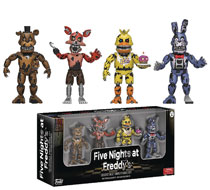 Image: Five Nights at Freddy's Sister Location Figurine 4-Pack Set 1  - Funko