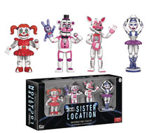 Image: Five Nights at Freddy's Sister Location Figurine 4-Pack Set 2  - Funko