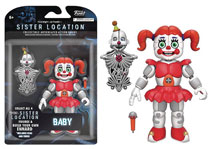Image: Five Nights at Freddy's Sister Location Action Figure: Baby  (5-inch) - Funko