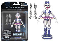 Image: Five Nights at Freddy's Sister Location Action Figure: Ballora  (5-inch) - Funko
