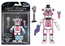 Image: Five Nights at Freddy's Sister Location Action Figure: Funtime Freddy  (5-inch) - Funko