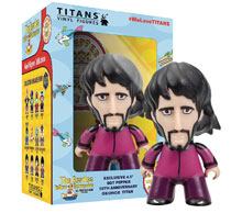 Image: Beatles Titans Sgt. Pepper Disguise Figure: George  (4.5-inch) - Titan Books Uk